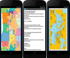 Морская навигация для планшета Андроид